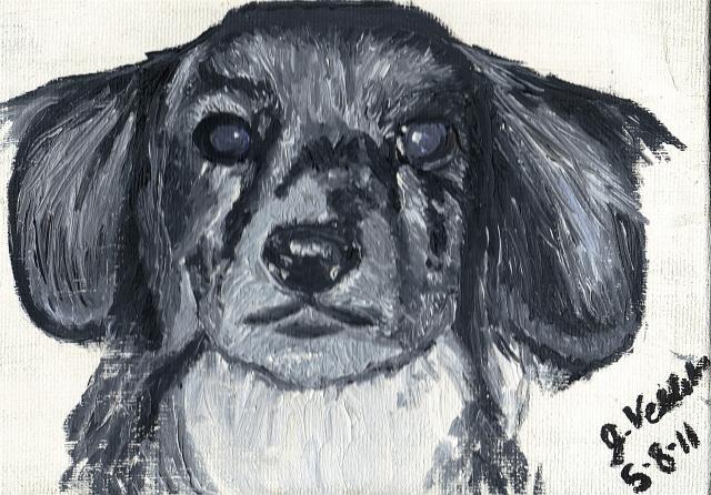 "Jessica Veldstra- ""Gloria"" Oil Painting"